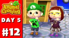 Animal Crossing: New Leaf - Part 12 - Luigi Hat (Nintendo 3DS Gameplay W...