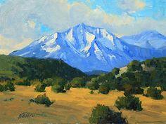 spanish peaks colorado paintings - Google Search