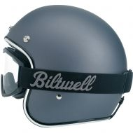 Biltwell Motorcycle Goggles. Will work with their vintage full face helmet. $34