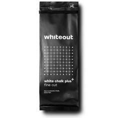 Whiteout Climbing White Chalk Plus Fine Cut - das trockenste Chalk, das du jemals hattest