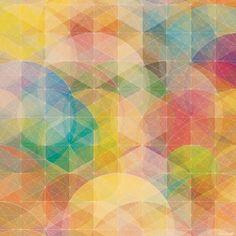 #yearofpattern multicolor kaleidoscope