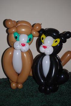 cat balloon animals