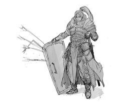 ArtStation - Sketch, Dev An