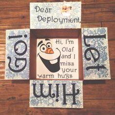 Frozen - Let him go, deployment!