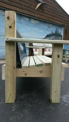 Well Built Tailgate Benches