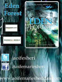 #Eden Forest (Part one of the #Saskia Trilogy) ~This Trilogy is complete   AMAZON.COM ~ https://goo.gl/JzaqBf  AMAZON.CO.UK ~ https://goo.gl/Mblk64  AMAZON.CA ~ https://goo.gl/hmTjLy  Website: https://goo.gl/vZEGP6  #fantasy #romance #youngadult #paranormal