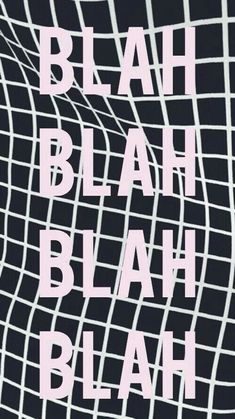 Blah blah wallpaper from Teen Wallpaper app ;)