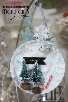Christmas Crafting with Ribbon – Ornaments
