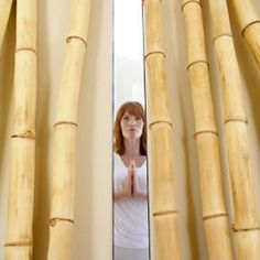 Craft accessories for your home using bamboo poles.