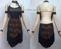tango competition dresses