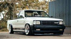#Mazda_B2200 #MiniTruck #Slammed #Stance #Modified Mazda 3 Mps, Mazda Cx5, Mazda 6 Wagon, Mazda 3 Hatchback, Toyota Hilux, Toyota Supra, Nissan Trucks, Toyota Trucks, Small Trucks