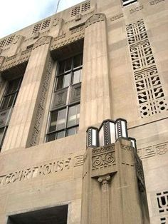 The L. Richardson Preyer Federal Courthouse, located at the intersection of West Market and North Eugene streets in downtown Greensboro, stands among the most celebrated examples of Art Deco architecture in North Carolina.