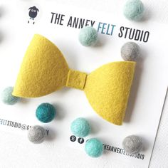 mustard toddler bow tie wedding accessory for boys clip on