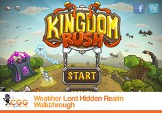 Our Kingdom Rush Walkthrough is Live! Rely on these insider tips, tricks, and video solutions to each and every level as you gear up for the fight of your life.