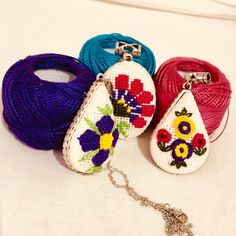 Embroidery Stitching - YouTube