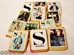 Cookies con la portada de la revista SModa