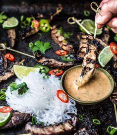 Vegan Mushroom Satay Skewers | Community Post: 21 Killer Kebabs To Serve At Your Next BBQ