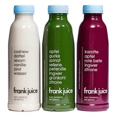 Cleanse, Saftkur, Detox | The Frank Juice | ehrlich.gut.