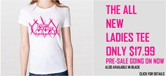 THE ALL NEW LADIES TEE PRE-SALE PRICE ONLY $17.99 – ALSO AVAILABLE IN BLACK http://www.topratedmma.com/ladies-cage-tee/