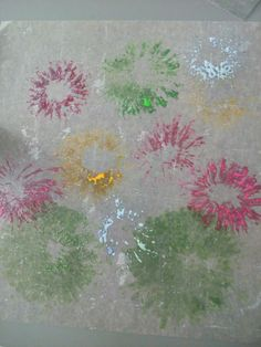 Fireworks from paper tube Fireworks, Tube, Activities, Paper, Painting, Art, Painting Art, Paintings, Kunst