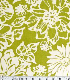 "45"" Home Essentials Print Fabric - Biko Leaf45"" Home Essentials Print Fabric - Biko Leaf,"