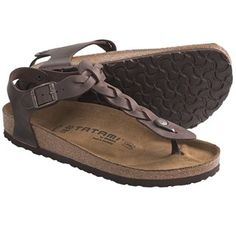 Tatami by Birkenstock Kairo Sandals - Leather (For Women) in Peridot