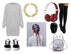 """""""I'm not your pet"""" by diana-gheatau on Polyvore featuring WearAll, WithChic, Beats by Dr. Dre and BERRICLE"""