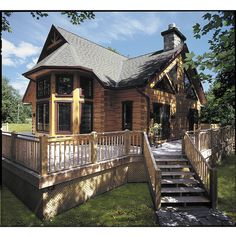 Cabot III by True North Log Homes