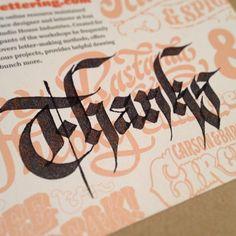 #calligraphy #handlettered #handlettering #blackletter #gothic