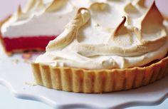 raspberry meringue pie