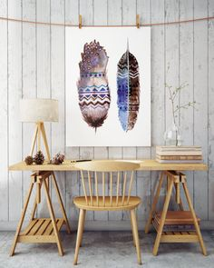 Boho feathers painted with watercolors in hippie style. Perfect for your living room walls.  High resolution .jpeg ready to be printed  Check out other products from the same series:  https://www.etsy.com/listing/513092123/boho-dreamcatcher-watercolor-feathers?ref=listing-shop-header-0  https://www.etsy.com/listing/499605948/boho-owl-hippie-art-feathers?ref=listing-shop-header-1   ZuskaArt : artwork | watercolor painting | art prints...