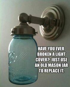 Old Mason jar