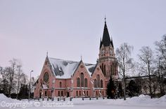 Pink Church of Kemi Kemi Church is an Evangelical Lutheran church located in the town of Kemi in Northern Finland. Lutheran, Mosque, Seaside, Cathedral, Temple, Building, Pink, Travel, Country