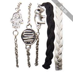 Boho Love Friendship Bracelet Set