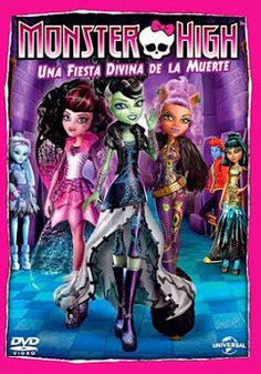 "Ver película Monster High Una fiesta divina de la muerte online latino 2012 gratis VK completa HD sin cortes descargar audio español latino online. Género: Animación, infantil Sinopsis: ""Monster High Una fiesta divina de la muerte online latino 2012"". ""Monster High: Ghouls Rule"". ""Monster High: Una Fie"