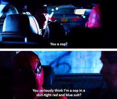 The Amazing Spiderman (cop)