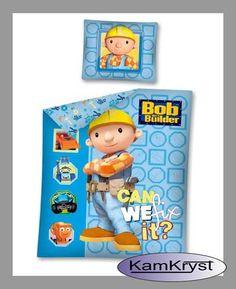 Bob the Builder Bedding store 160x200 KamKryst | Pościel z Bobem Budowniczym 160x200 w sklepie KamKryst