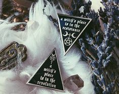 A Witch's Place is in the Resistance//Revolution - Pin Set, Hard Enamel