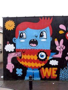 street art 5 Street artists... the world is their canvas (35 photos)