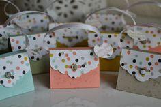 Kreativ mit Liebe!: kleine Täschchen mit der Anhängerstanze