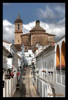 Iglesia de San Miguel - Jabugo   Huelva