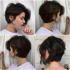 Short Bob Hairstyles, Short Hair Cut, Trendy Hair Styles for 2020 – diy hairstyles shorthair Curly Hair Styles, Short Hairstyles For Thick Hair, Shot Hair Styles, Layered Bob Hairstyles, Long Hairstyles, Pretty Hairstyles, Hairstyle Ideas, Wedding Hairstyles, Celebrity Hairstyles