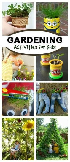 Activities for Kids awesome gardening activities for kids- so many fun ideas! I can't wait to try the sandbox awesome gardening activities for kids- so many fun ideas! I can't wait to try the sandbox garden! Outdoor Activities, Activities For Kids, Crafts For Kids, Nursery Activities, Nature Activities, Outdoor Learning, Science Activities, Outdoor Play, Gardening For Beginners