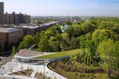 Brooklyn Botanic Garden Visitor Center - Picture gallery