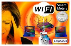 WiFi Radiation in the Home ~ Health Hazard Demonstration
