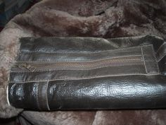 Irvin RAF sheepskin coat sleeve zipper