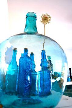 <3 blue glass