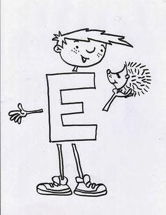 COSILLAS DE INFANTIL: Letra E mayúscula Sistema Solar, Language Activities, Art For Kids, Alphabet, Preschool, Album, Education, Amanda, Interactive Activities