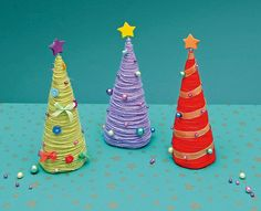Mini Yeni Yıl Ağaçları - Projedenizi