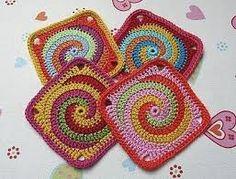 crochet granny square - Google Search